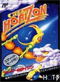 Box cover for Over Horizon on the Nintendo NES.