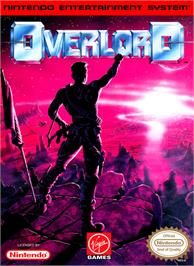 Box cover for Overlord on the Nintendo NES.