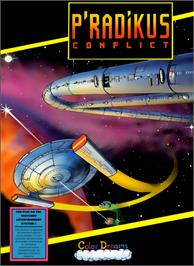 Box cover for P'radikus Conflict on the Nintendo NES.