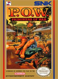 Box cover for P.O.W. - Prisoners of War on the Nintendo NES.