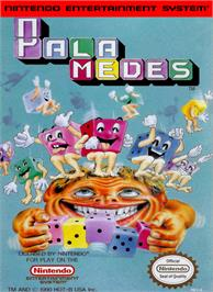 Box cover for Palamedes on the Nintendo NES.