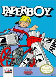 Box cover for Paperboy on the Nintendo NES.