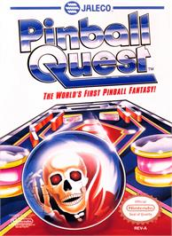 Box cover for Pinball Quest on the Nintendo NES.