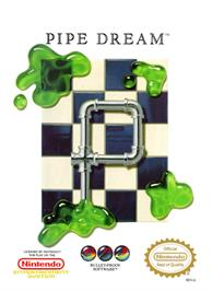 Box cover for Pipe Dream on the Nintendo NES.