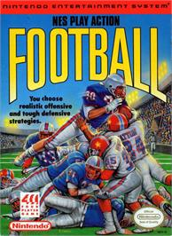 Box cover for Play Action Football on the Nintendo NES.