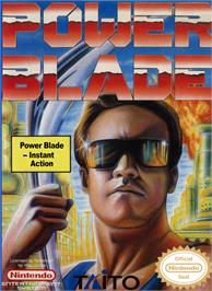 Box cover for Power Blade on the Nintendo NES.