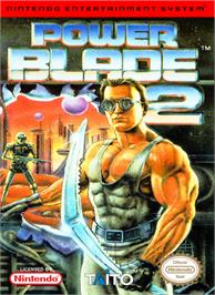 Box cover for Power Blade 2 on the Nintendo NES.