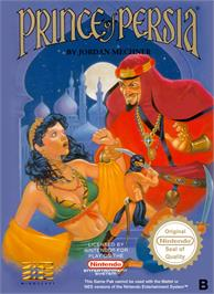 Box cover for Prince of Persia on the Nintendo NES.