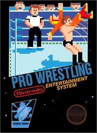 Box cover for Pro Wrestling on the Nintendo NES.
