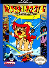 Box cover for Puss N Boots: Pero's Great Adventure on the Nintendo NES.