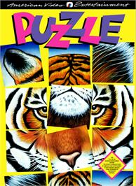 Box cover for Puzzle on the Nintendo NES.