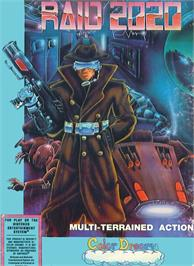 Box cover for Raid 2020 on the Nintendo NES.