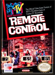 Box cover for Remote Control on the Nintendo NES.