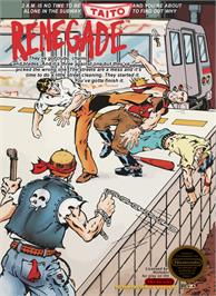 Box cover for Renegade on the Nintendo NES.