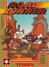 Box cover for Road Runner on the Nintendo NES.