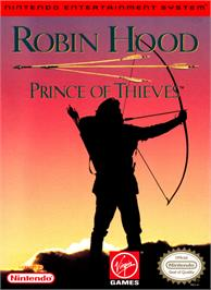 Box cover for Robin Hood: Prince of Thieves on the Nintendo NES.