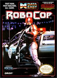 Box cover for Robocop on the Nintendo NES.