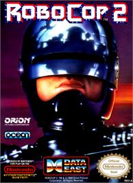 Box cover for Robocop 2 on the Nintendo NES.