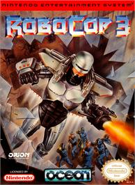 Box cover for Robocop 3 on the Nintendo NES.