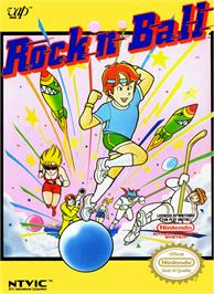 Box cover for Rock 'n Ball on the Nintendo NES.
