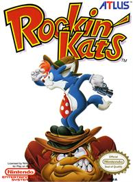 Box cover for Rockin' Kats on the Nintendo NES.