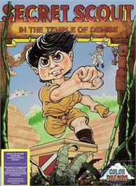 Box cover for Secret Scout in the Temple of Demise on the Nintendo NES.