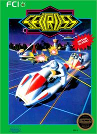 Box cover for Seicross on the Nintendo NES.