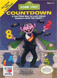 Box cover for Sesame Street Countdown on the Nintendo NES.
