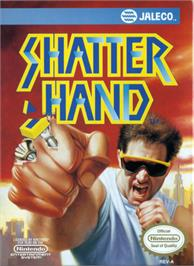 Box cover for Shatterhand on the Nintendo NES.