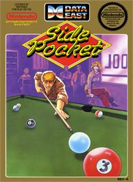 Box cover for Side Pocket on the Nintendo NES.