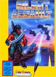 Box cover for Silent Assault on the Nintendo NES.