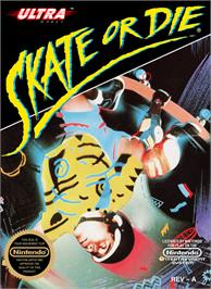 Box cover for Skate or Die on the Nintendo NES.
