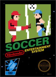 Box cover for Soccer on the Nintendo NES.