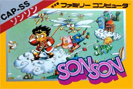 Box cover for Son Son on the Nintendo NES.