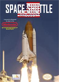 Box cover for Space Shuttle Project on the Nintendo NES.