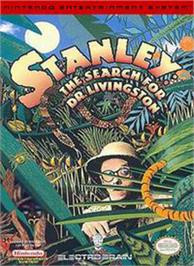 Box cover for Stanley: The Search for Dr. Livingston on the Nintendo NES.