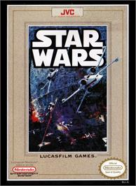 Box cover for Star Wars: The Empire Strikes Back on the Nintendo NES.
