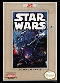 Box cover for Star Wars on the Nintendo NES.