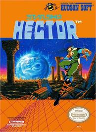 Box cover for Starship Hector on the Nintendo NES.