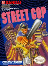 Box cover for Street Cop on the Nintendo NES.