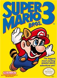 Box cover for Super Mario Bros. 3 on the Nintendo NES.
