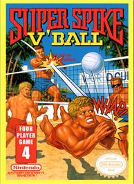 Box cover for Super Spike V'Ball / Nintendo World Cup on the Nintendo NES.
