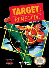 Box cover for Target Renegade on the Nintendo NES.