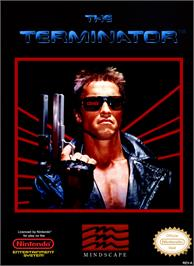 Box cover for Terminator on the Nintendo NES.