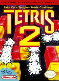 Box cover for Tetris 2 on the Nintendo NES.