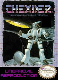 Box cover for Thexder on the Nintendo NES.