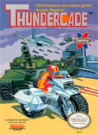 Box cover for Thundercade / Twin Formation on the Nintendo NES.