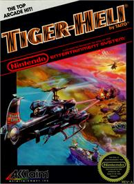 Box cover for Tiger Heli on the Nintendo NES.