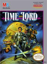 Box cover for Time Lord on the Nintendo NES.
