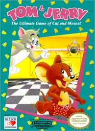 Box cover for Tom & Jerry: The Ultimate Game of Cat and Mouse on the Nintendo NES.